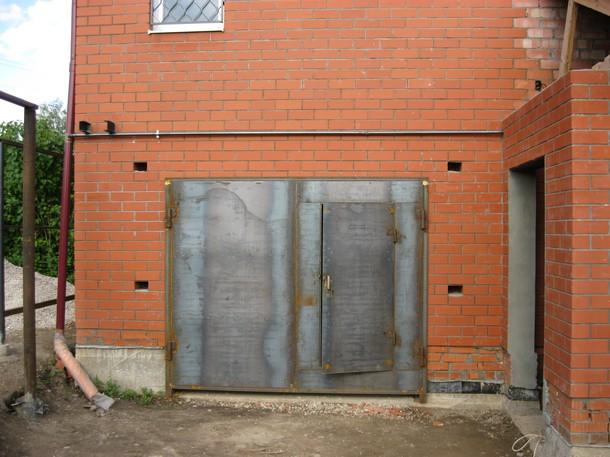 Варим гаражные ворота своими руками