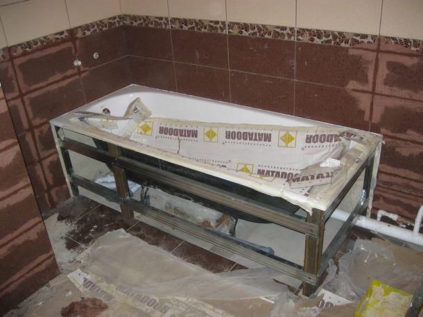 Люк плитке в ванной - ad51